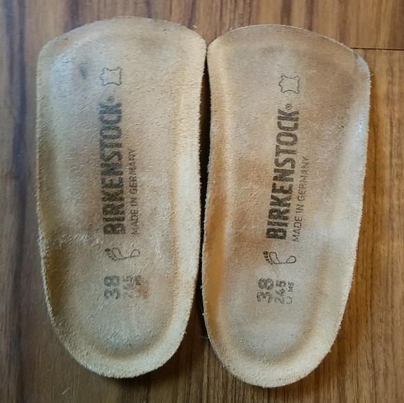 ea99f31375 Birkenstock Shoes - Birkenstock Half Arch Support Insole Birko Natural